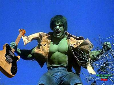 only hulk can haz a tele.